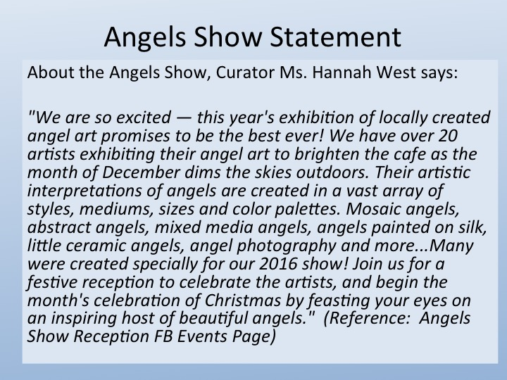 Angels Show Quote by Hannah West