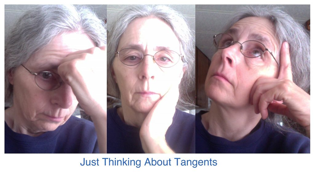 Tangents - just me thinking