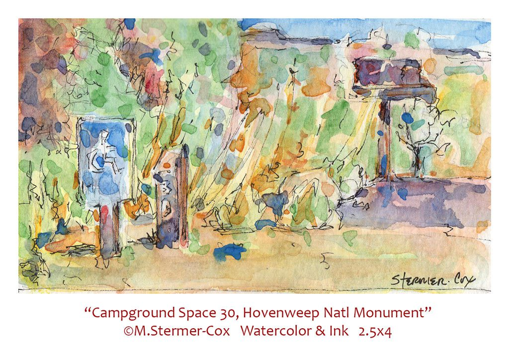 Travel Sketches: Space 30 Hovenweep