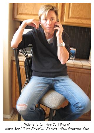 Michelle On Telephone
