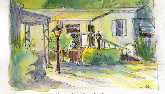 Awnings & Lamp Posts, Study