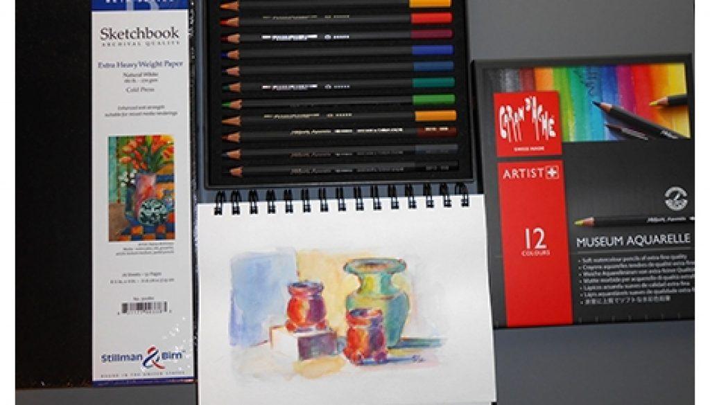 Stillman & Birn Sketchbook, Watercolor