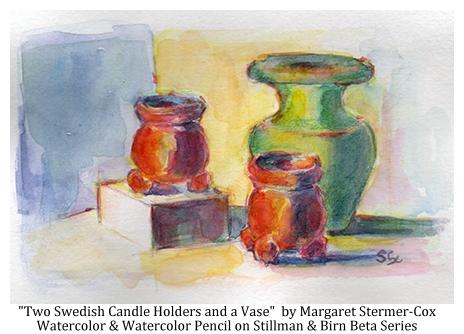 Watercolor, Stillman & Birn, Still Life