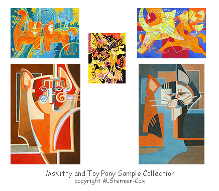 Paintings From the MsKitty and Toy Pony Collections