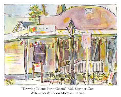 Drawing Talent:  Porto Gelato