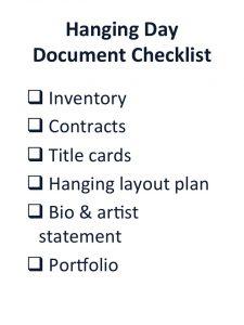 Sample Document Checklist