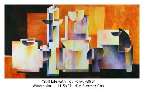 Still Life with Toy Pony v39b