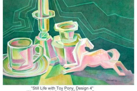 Still Life With Toy Pony Design 4