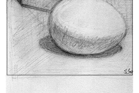 Drawing Study: Egg and Box