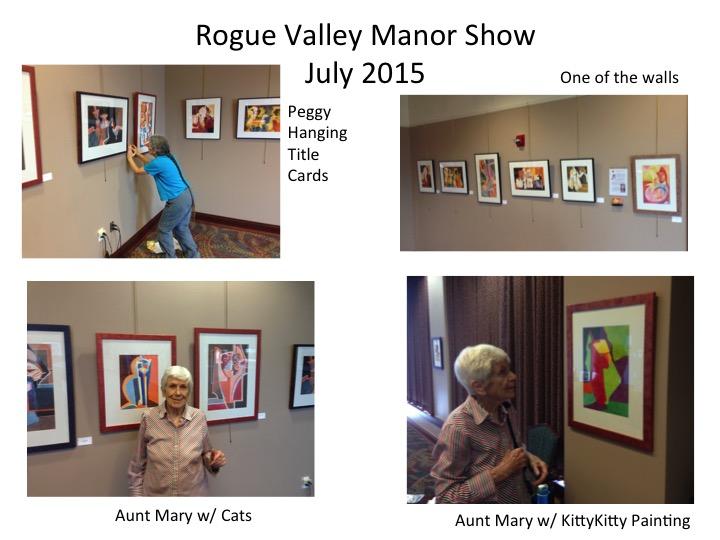 Art Show at Deschutes Gallery, Rogue Valley Manor