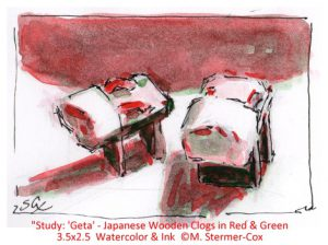 Color Study Red & Green