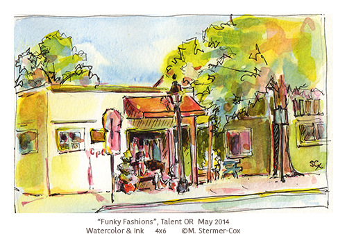 Funky Fashion Building, May 2014