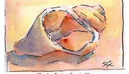 Daily Habit Watercolor & Ink Study