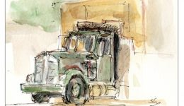 Drawing Talent: TID Dumb Truck