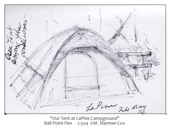 Tent at LaPine