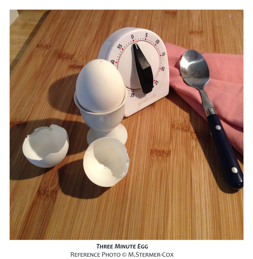 Deconstruct: Three Minute Egg Project