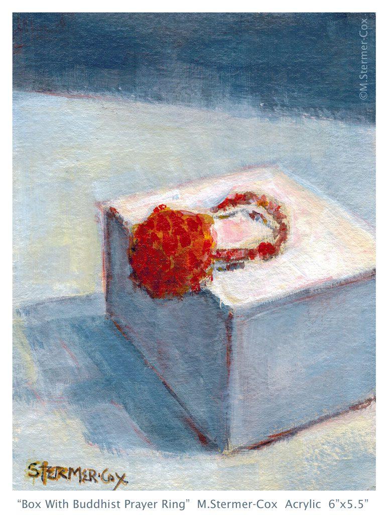 #StradaEasel Challenge Day 1: Buddhist Prayer Ring & Box