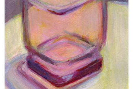 Strada Easel Challenge: Rose Colored Glass