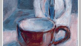 Limited Palette: Day 10 Cappuccino Time-$