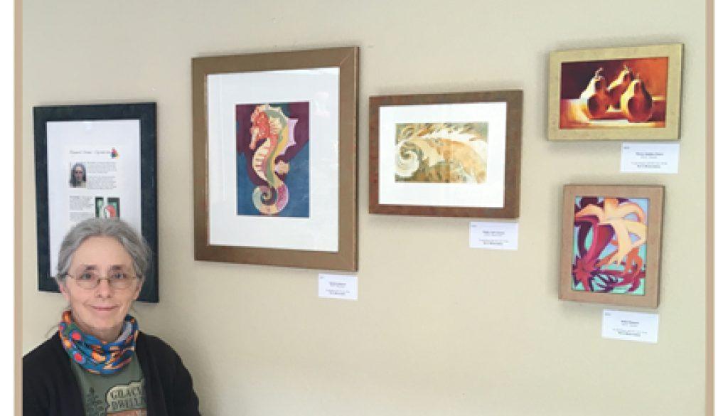 The Artist At Linda Vista, Ashland OR
