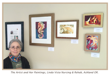 The Artist At Linda Vista, Ashland OR