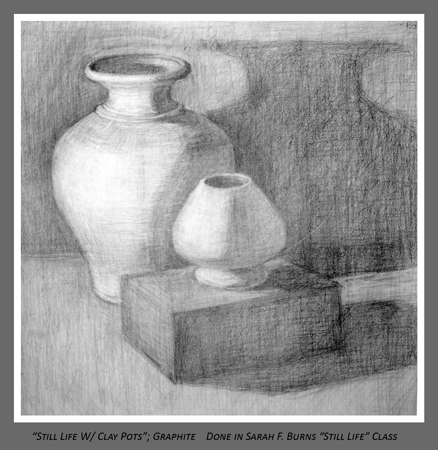 Teachers: From Sarah F. Burns Still Life Class