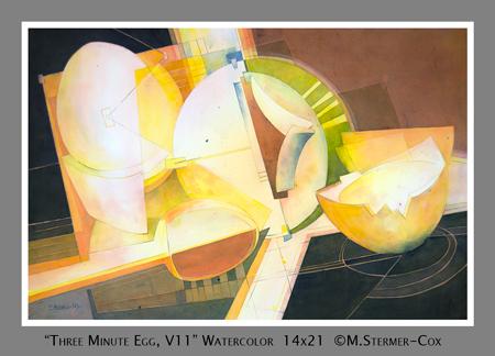 Award Winning Painting: 3 Minute Egg V11
