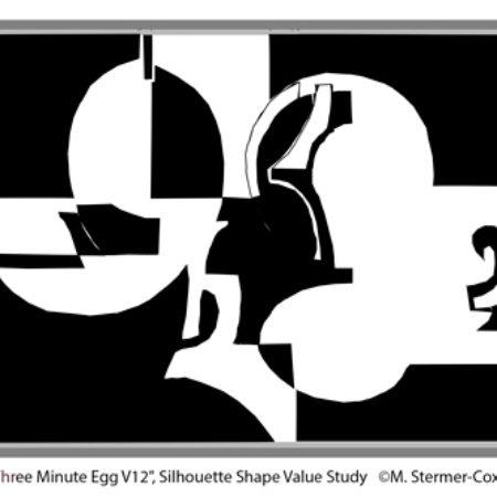 Simplify: Silhouette Shape Study
