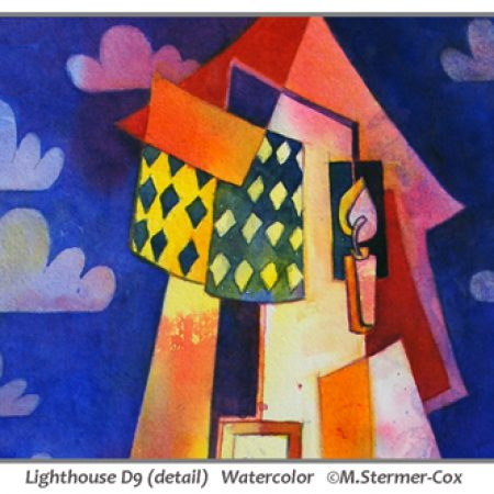 Pattern: Lighthouse D9, Watercolor, M. Stermer-Cox