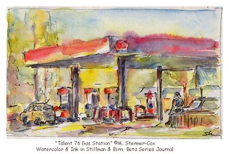 Remember Talent: 76 Gas Station