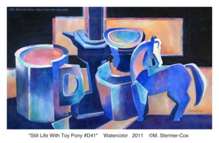 "Decade In Review ""Still Life with Toy Pony D41; M.Stermer-Cox"