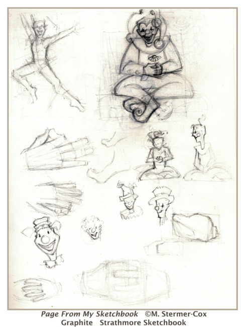 Drawing Or Sketch: A Page From My Sketchbook