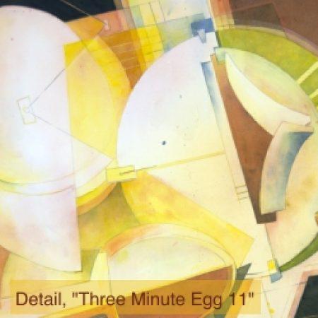 Montana Watercolor Society Members Show: Detail, Three Minute 11gg #11
