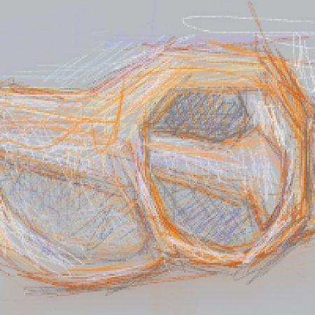 Five Minute Drawing: A Broken Seashell