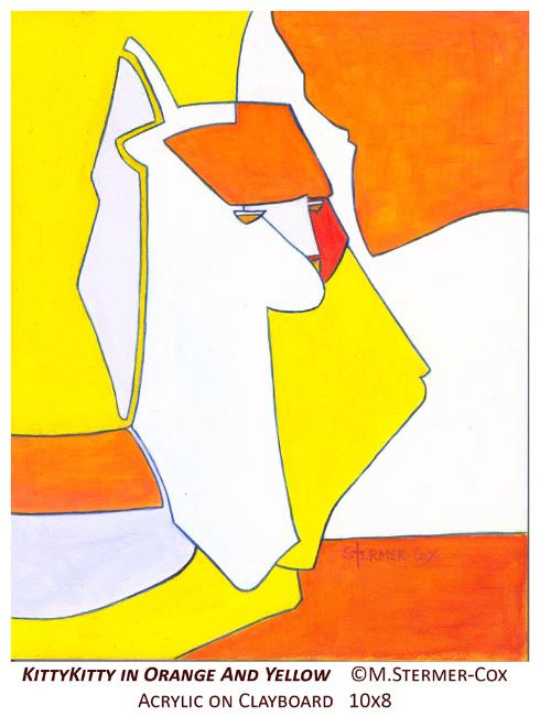 Yellow: KittyKitty In Orange And Yellow