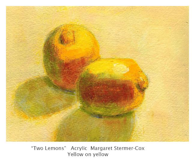 Yellow: Two Yellow Lemons