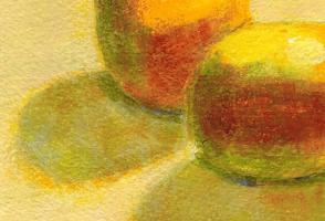 Yellow: Detail of Two Lemons