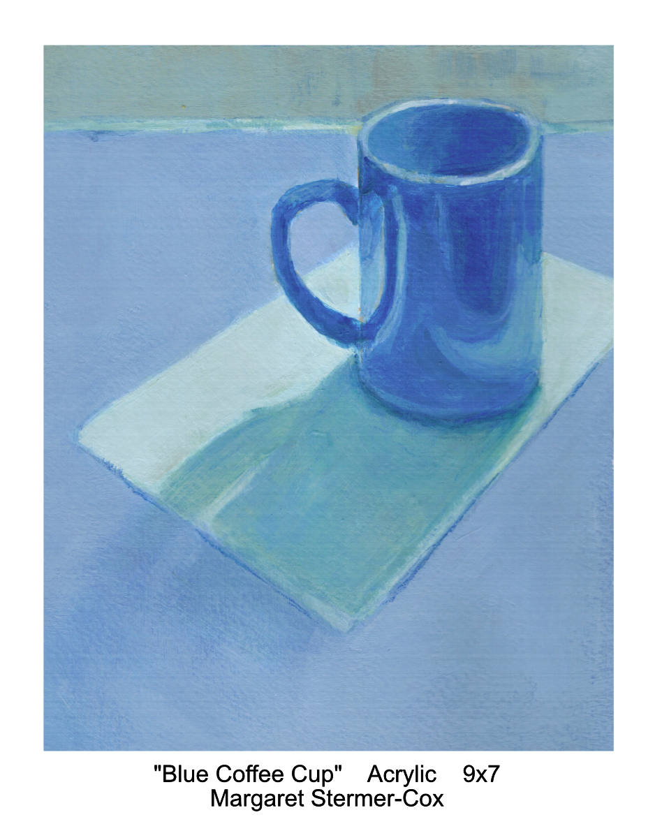 Blue: Blue Coffee Cup