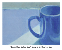 Blue: Detail, Blue Coffee Cup